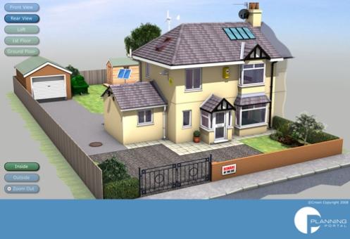 Interactive house 2008